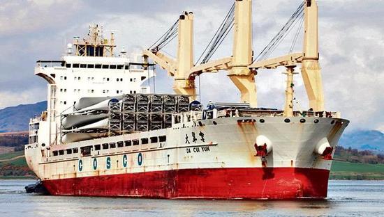 印度海关扣押中国货轮 因装载导弹发射装置