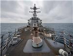 西方关注:中方对美舰再穿台海强烈不满