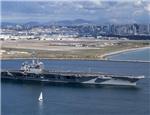 美航母刚在南海感染病毒,驱逐舰又来射导弹