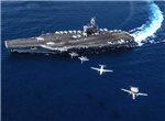 美疫情惨烈威胁海外开战,航母扑向真正目标