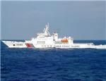 中国海警舰艇编队在我钓鱼岛领海巡航