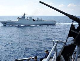 再爆冲突!越南舰船闯南海,火控系统锁定